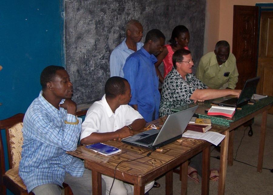 Misionár s Wycliffe
